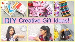 DIY- Easy Creative Gift Ideas
