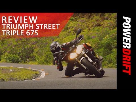 Triumph Street Triple 675 : Review : PowerDrift