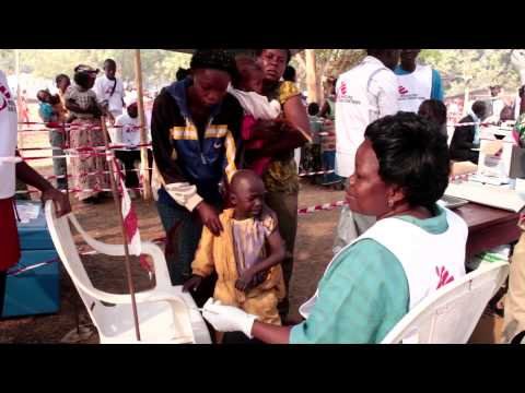 Central African Republic: MSF vaccinates 68,000 children against measles in Bangui camps