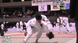 第2回全日本学生柔道体重別団体選手権 1日目