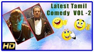 Latest Tamil Comedy Scenes 2018 | Vol 2 | Rajendran | Ramdoss | Prakash Raj | G V Prakash Kumar