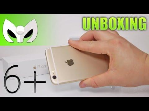 Unboxing iPhone 6 Plus DORADO (Grandes Diferencias al iPhone 6)