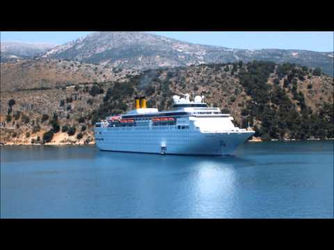 MSC ARMONIA COSTA CLASSICA Horns Argostoli Kefalonia Jun 13