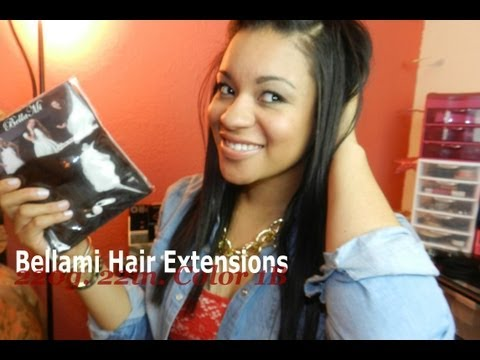 Product Review: Double Drawn Bellami Hair Extensions (220g. Color 1B)