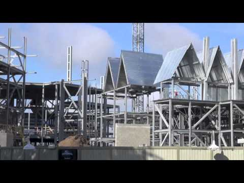 The Wizarding World of Harry Potter Diagon Alley Construction Update Universal Studios May 23rd 2013
