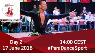 2018 World Para Dance Sport Polish Open | Lomianki | Day 2