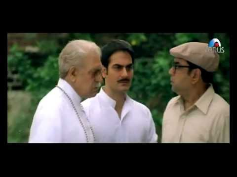 Comedy scene - Amrish Puri slaps Paresh Rawal (Hulchul)
