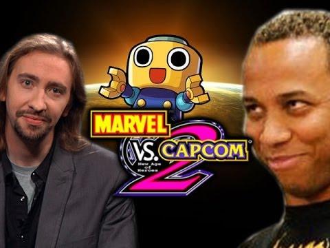 Max & Mike Ross VS THE WORLD: Servbot Plz - Marvel vs Capcom 2 (Part 3)