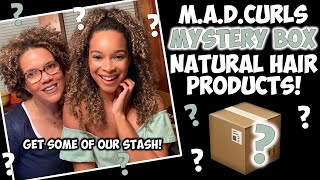 M.A.D.CURLS MYSTERY BOX | Get Some Of Our Natural Hair Product Stash!
