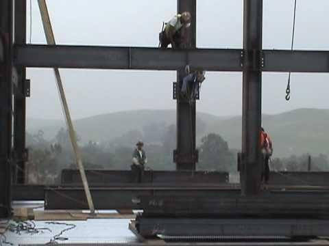 Ironworkers Local 433 Schuff Steel Job 5 13 06 Youtube