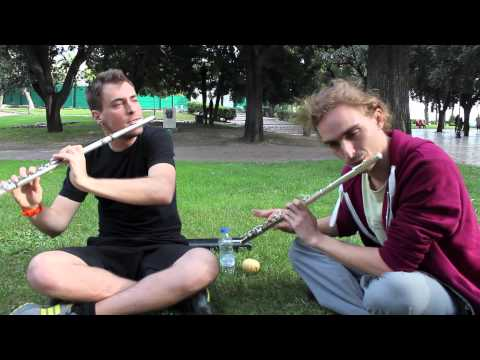 Alexis Sorba and Greg Pattillo - Beatbox Flute Duet