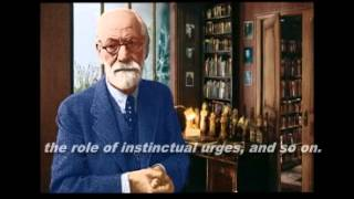The only audio recording of Sigmund  Freud
