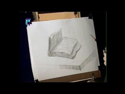 Рисуем карандашом драпировку