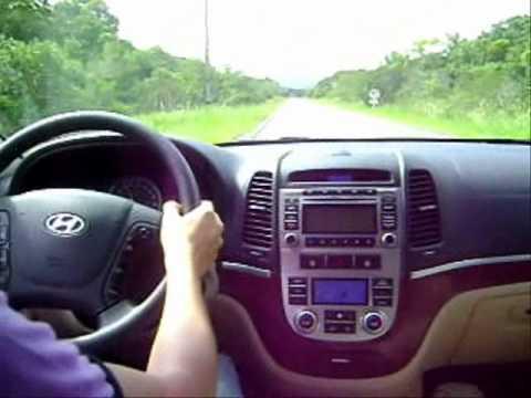 Hyundai  Santa Fé v6 acelerando TESTE