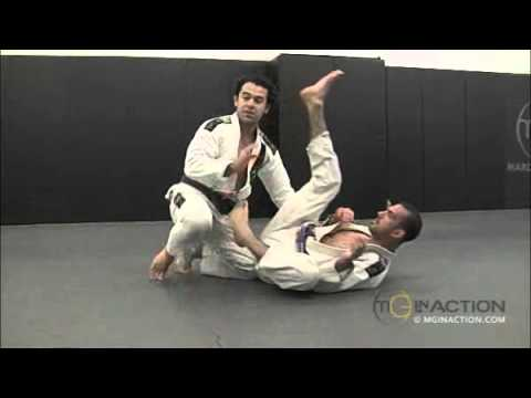 Collar and Elbow Control Hook Sweep, X Guard Entry, X Guard Takedown, Unbalance Sweep from X Guard Image 1