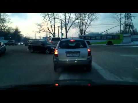 Видео подборка аварий на видеорегистратор за ноябрь 2011