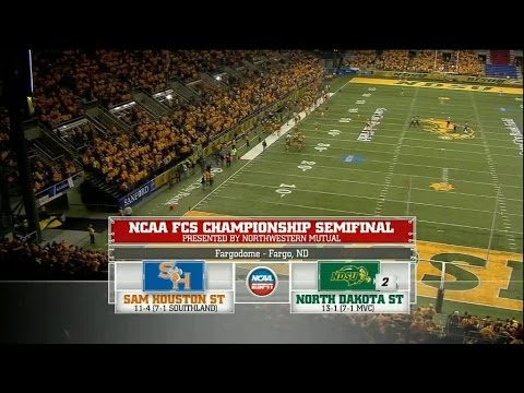 2014 Sam Houston State at North Dakota State