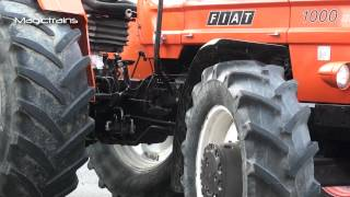 Landmaschinenshow 4 Traktor Fiat 1000DT