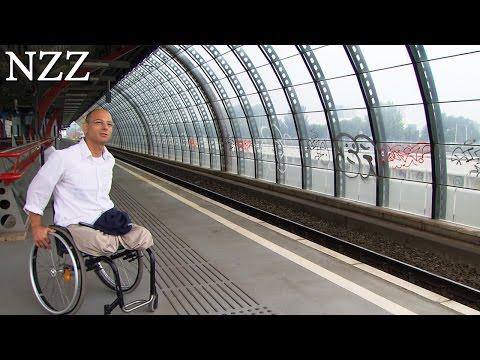 Mann ohne, arme und Beine: Mir fehlt nichts