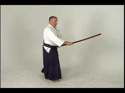 Aikido Sword Fighting: Ken-Gi One : Bokken Shomenuchi Image 1