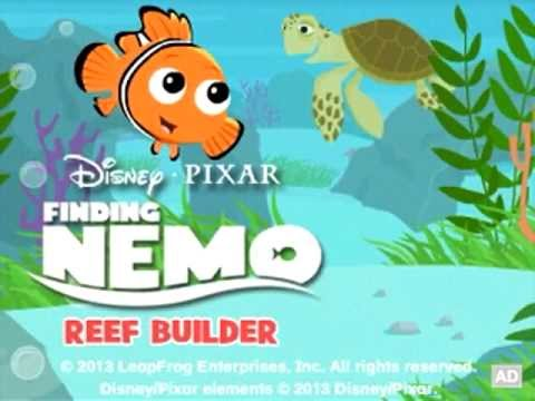 Leapfrog game app trailer disney pixar finding nemo for Finding a builder