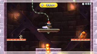 Screwtop It Up Gold Medal - New Super Mario Bros. U (64.73 Seconds)