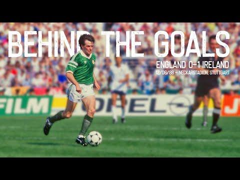 BEHIND THE GOALS | England 0-1 Ireland, Euro '88