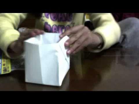 有蓋紙盒折法教學