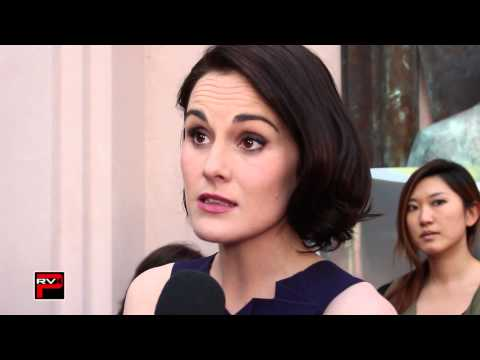 Downton Abbey Q&A Red Carpet   Michelle Dockery
