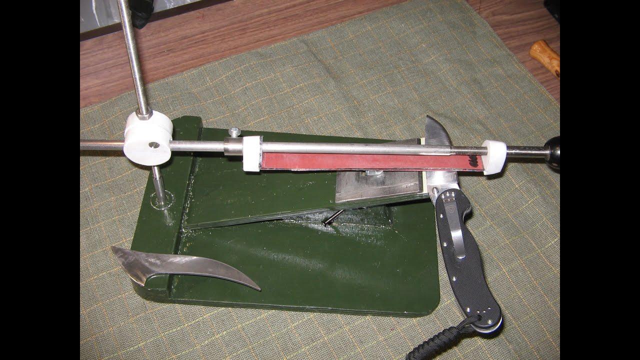 Точилка для охотничьих ножей своими руками 59
