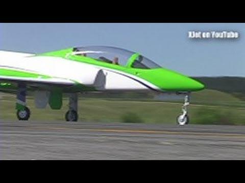 Large jet-powered Skymaster Viper RC model airplane