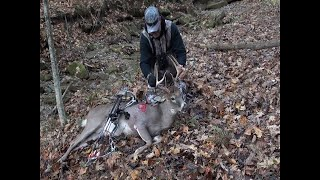 Philip Byers Outdoors - SELF FILMED - OHIO 8PT KILLED FROM THE GROUND IN GHILLIE SUIT!!