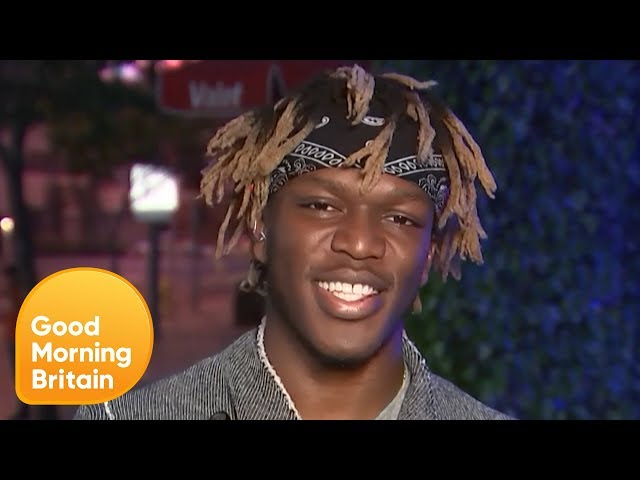 KSI Claims He Would 'Destroy' Justin Bieber in a Boxing Ring | Good Morning Britain thumbnail