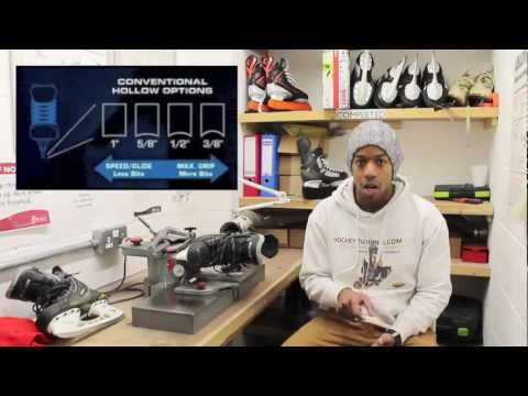 Ice Hockey Skate Blade Profiling & Skates Sharpening Guide 101 - Hard Ice vs Soft Ice
