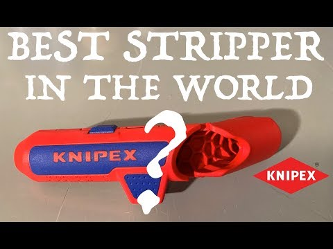 Is the Knipex Ergostrip, THE BEST STRIPPER IN THE WORLD? -2018-