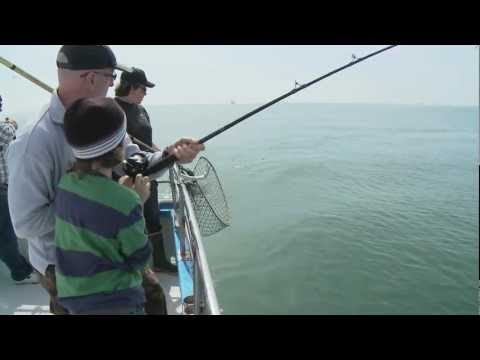 Huli Cat Sport Salmon Fishing - Half Moon Bay, California - www.hulicat.com - .mov