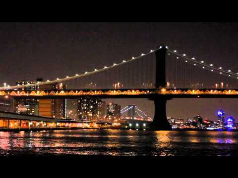 Brooklyn Bridge part 2 (New York city USA) ******relaxing city sounds*****