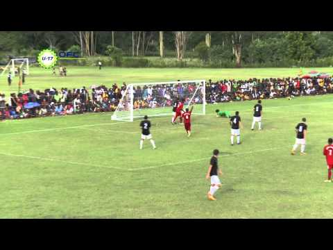 2013 OFC U 17 Championship Day 2 New Caledonia vs New Zealand Highlights