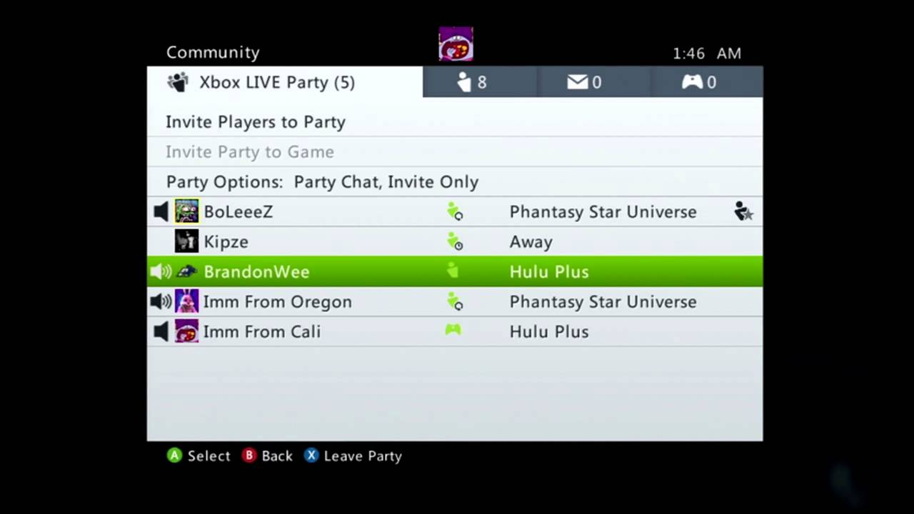 xbox one party chat problems youtube
