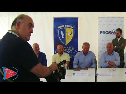 Presentazione integrale conferenza stampa del tecnico Dino Bitetto, da Trc