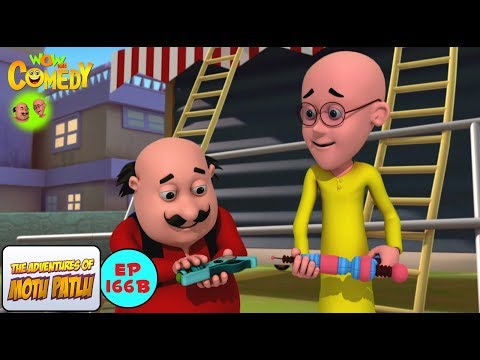 Dr Jhatka Ka Laser Cutter Motu Patlu In Hindi 3d Animated