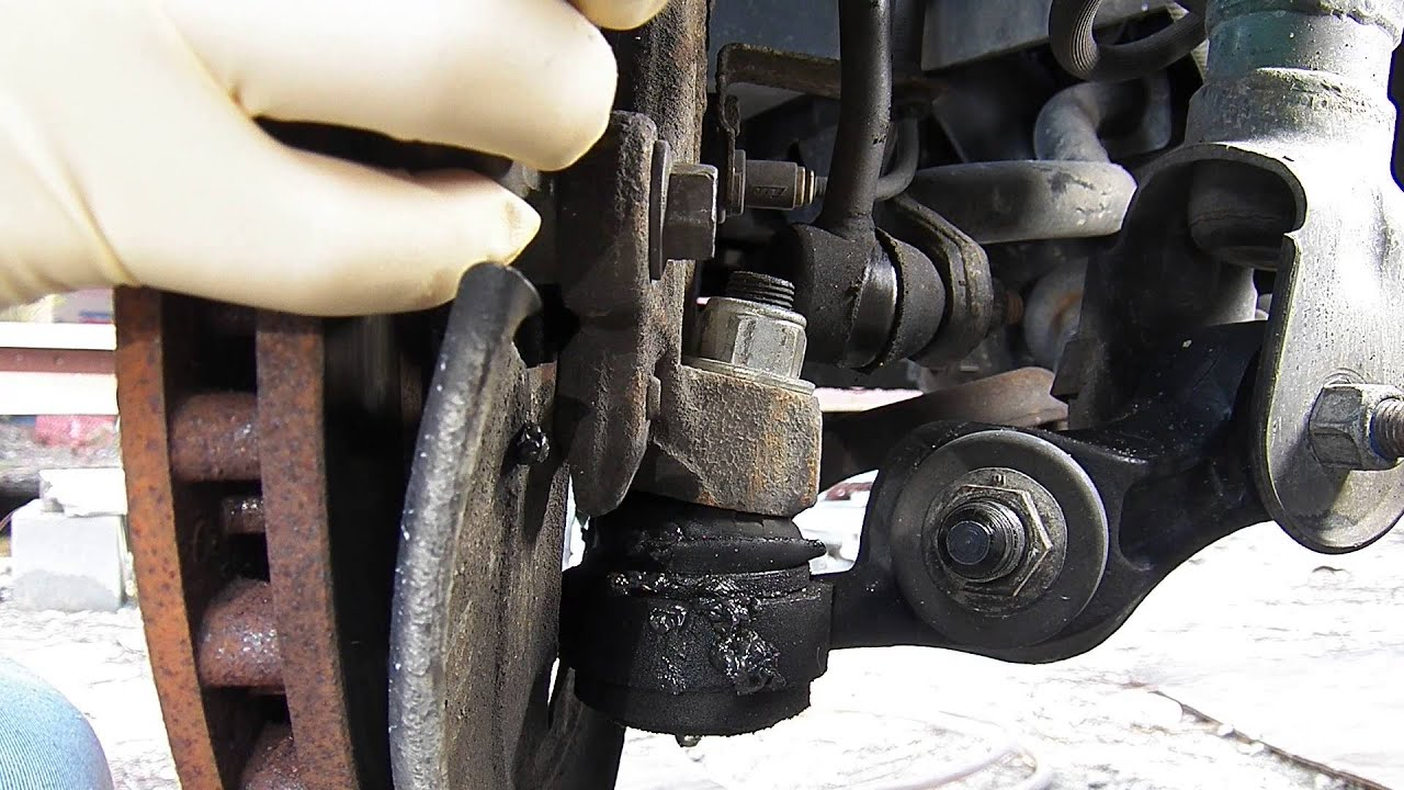 Mark Viii Lower Ball Joints Worn Out Youtube