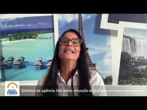 Diretora de agência fala sobre situação do turismo em meio a pandemia