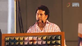 Motivational Speech by Sachin Tendulkar