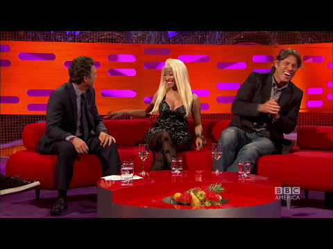 MARK RUFFALO: Smoking Pot Onstage! (The Graham Norton Show)