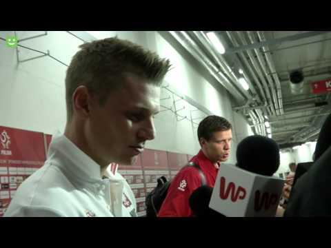 Łukasz Piszczek po meczu Polska-Niemcy 2:0 (11.10.2014)