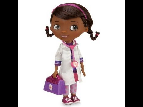 Говорящая кукла Доктор Плюшева. Doc Mcstuffins talking and singing doll