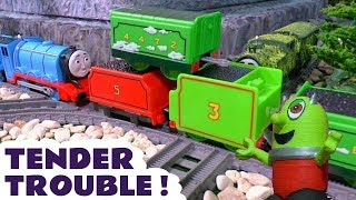 Thomas and Friends tender trouble toy story with Tom Moss and the funny Funlings