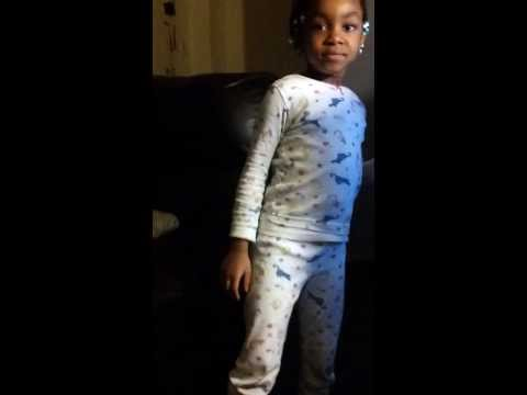 Mack Wilds Own  It dance 4yr old Shahdi getting it in