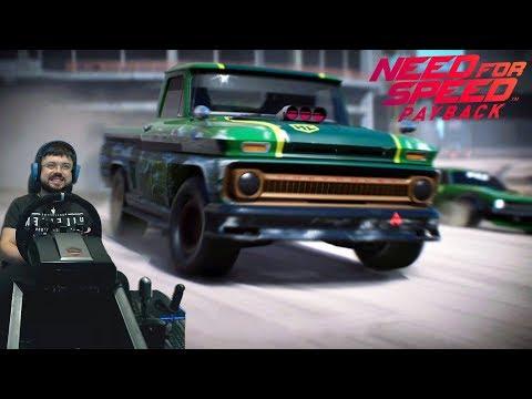 Американские горки на BMW X6 и потраченный геймпад! Need for Speed Payback